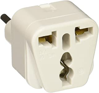 CKITZE B-12 Grounded Universal Plug Adapter Type L for Italy, Uruguay & more - CE Certified