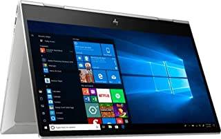 HP Envy x360 15 - 2-in-1 Laptop 10th Gen Intel 4-Core i7-10510U, 16GB, 512GB PCIe, Webcam kill switch, 15.6 FHD Touchscreen, NVIDIA GeForce MX250 4GB, battery fast charge, Eng-KB, Win 10 , Silver