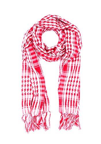 Trendfinding - Sciarpa palestinese Palestina Palestina Palestinese Pali sciarpa lunga sciarpa a quadretti (rosso)