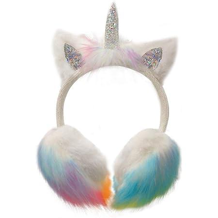 Gifts Treat Earmuffs Girls Earmuffs in Plush Cute Design abc kids-sequins bow-tie