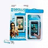Marine Sports 4894WBL 80 FT SEAWAG Waterproof Case Universal Size White Case in Blue
