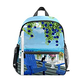 Chaise de terrasse en rotin meubles bord de mer sac à dos pour fille garçon enfants mini sac de voyage primaire école…