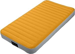 Intex 64791Single Camping Mattress Fiber-Tech with Pump, 99x 191x 20cm, I.3Batteries