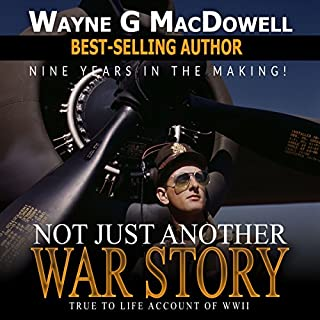 Not Just Another War Story audiobook cover art
