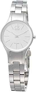 Calvin Klein Women's Silver Dial Stainless Steel Band Watch - K4323185