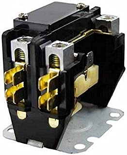 Packard C140A 1 Pole Contactor Coil Contactor, 40 Amp, 24V