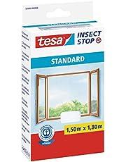tesa Insect Stop Standard Vliegenhor voor ramen - Insectenhor, raamhor - Met klittenband - Makkelijk op maat snijden