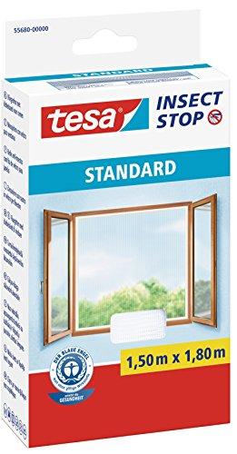 Tesa 55680-00000-01 Standard - Mosquitera para ventana, color blanco