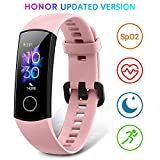 HONOR Band 5 Smartwatch Orologio Fitness Tracker Uomo Donna Smart Watch Cardiofrequenzimetro da Polso Contapassi Smartband Sportivo Activity Tracker, Rosa