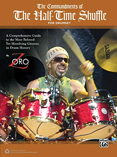 The Commandments of the Half-Time Shuffle  |  Drum Set  |  Book