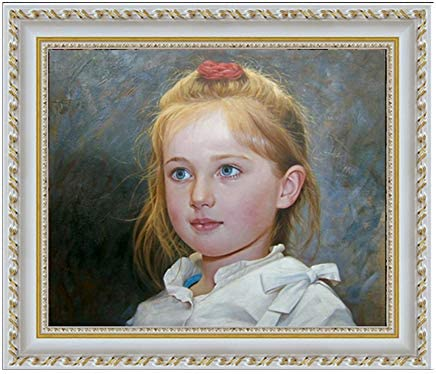 Paul tearful holding cross /& book Hand painted oil painting male portrait St