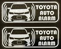 トヨタ カローラ フィールダー TRD セキュリティ ステッカー t170wos