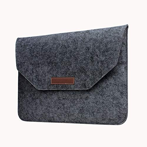 RZL PAD & TAB cases For Macbook New Air Pro, Unisex Wool Felt Laptop Bags Computer Sleeve Pack Case Notebook Bag for Macbook New Air Pro Retina 11 12 13 15 13.3 15.4 inch