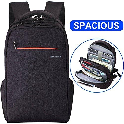 Lapacker Lightweight Travel Business Laptop Backpack for Women Men, Water Resistant Anti Theft Slim...