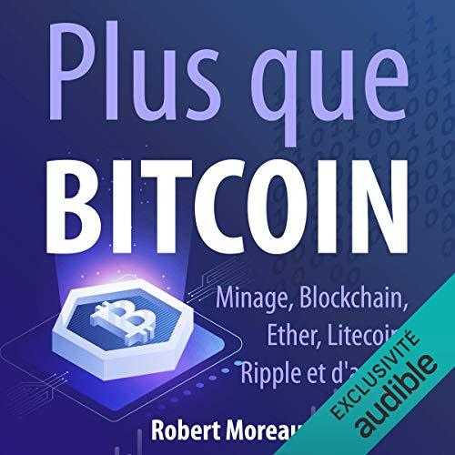 Page de couverture de Plus que Bitcoin