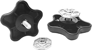 Carefree 901022 Black RV Awning Brace Knob with Clamp