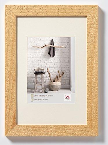 Walther Design HO318H Home Cornice, Legno, Natura, 13 x 18 cm