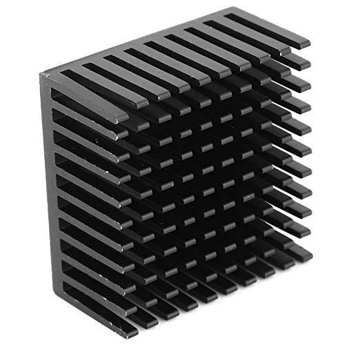 Shipenophy Placa Que Forma el radiador del disipador de Calor del refrigerador de la CPU de la Placa Base para Raspberry Pi(Black)