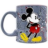 Disney Mickey Mouse Circle Logos Pattern 20oz Jumbo Ceramic Mug