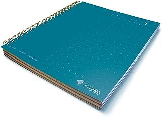 Livescribe 8.5 x 11 3-Subject Notebook #1, Blue