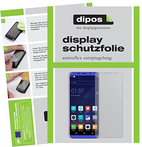 dipos I 2X Schutzfolie matt kompatibel mit BLUBOO S8 Folie Bildschirmschutzfolie