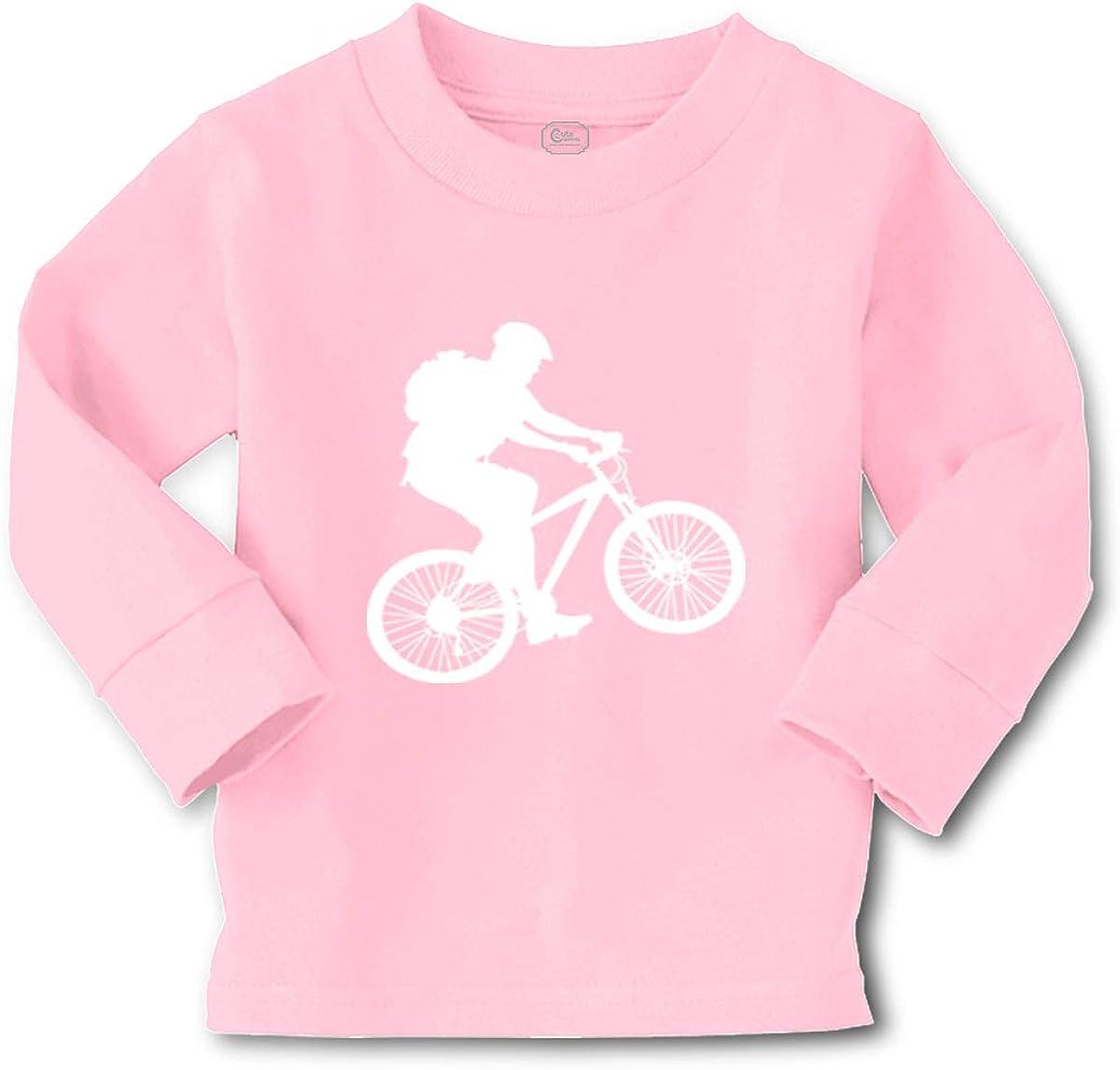Cute Rascals Kids Long Sleeve T Shirt BMX Sport Cotton Boy & Girl Clothes Funny Graphic Tee