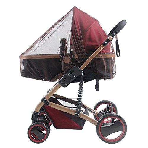 Butterme Enfant Bébé Pleine couverture Moustiquaire pour Poussette, lit pliable ,landaus, des camions, des sièges d'auto , Cradles