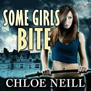 Some Girls Bite audiobook cover art