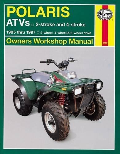 Polaris 250cc-500cc 2-stroke & 4-stroke 2-wheel drive, 4-wheel drive & 6-wheel drive ATVs (85-97) (I