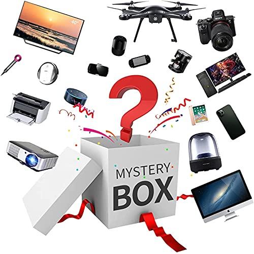ETScooter Mystery Box Elettronica, Luck Surprise Box, Casella Casuale di Fortuna, Scatola a Sorpresa Contiene Regali Imprevisti, Come Droni, Orologi Intelligenti, Gamepad, Fotocamere Digitali e Altro
