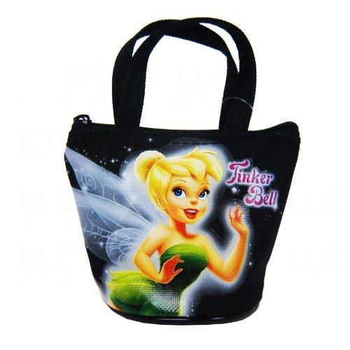 Officially Licensed Disney Fairies Mini Handbag Style Coin Purse - Tinkerbell