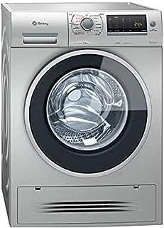 Balay 3TW976XA Independiente Carga frontal A Acero inoxidable lavadora - Lavadora-secadora (Carga frontal, Independiente, ...