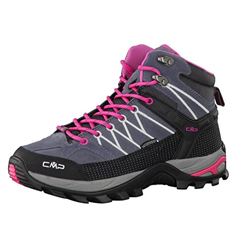 CMP - Rigel, Scarpe sportive - camminata donna, color Grigio (Grey-Fuxia-Ice 103Q), talla 41