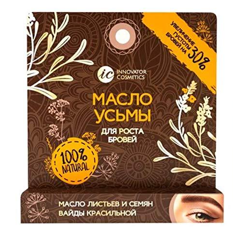 Usma-Öl für Wimpern und Augenbrauen Reines Kosmetik Öl - Kräftiges, schnelles Wachstum - Pflegt und spendet Feuchtigkeit (1x4ml)