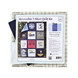 June Tailor Just Add T-Shirts Quilt Kit, Navy