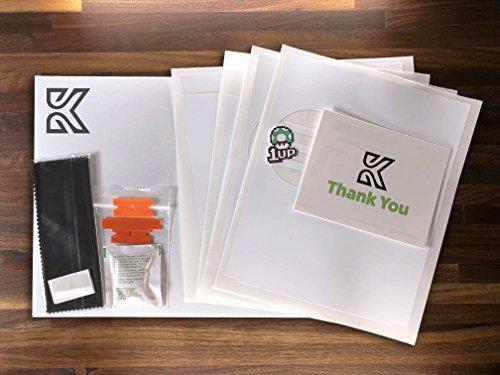Kenriko Tesla Model 3 Matte White Console Wrap Kit
