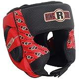 Apex Headgear, Black/Red, Small/Medium