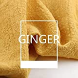 Tela de lino, 130 x 100 cm, lino natural puro cambric Eco DIY ropa para...