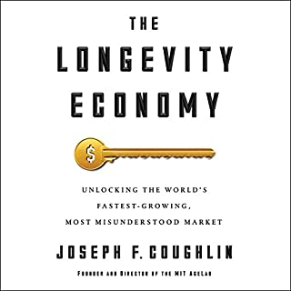 The Longevity Economy audiobook cover art