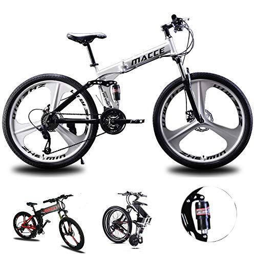 Bicicleta de montaña Hombres Mujeres, bastidor de suspensi�