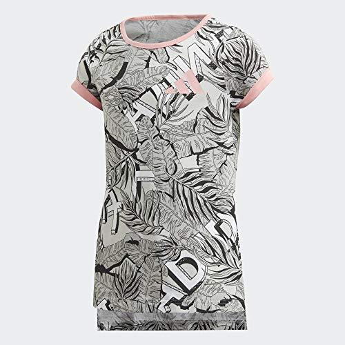 adidas Kinder Tr Aero T-Shirt, White/Greone/Gretwo/B, 164