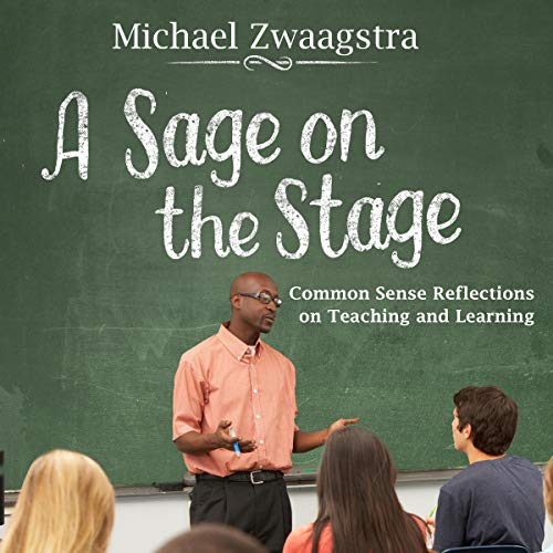 A Sage on the Stage audiobook cover art