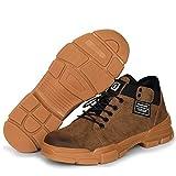 Botas de Seguridad Hombre Piel Comodos Calzado de Protección Zapatillas Trabajo S3 Casual Zapatos Seguridas