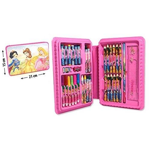 MCM Conjunto de DE Dibujo 34 Piezas Princesas Juego Disney Color Dibujar JX