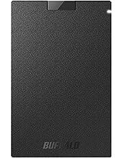 バッファロー SSD 外付け 1.0TB USB3.2Gen1 ポータブル コンパクト PS5/PS4対応(メーカー動作確認済) ブラック SSD-PG1.0U3-BC/N
