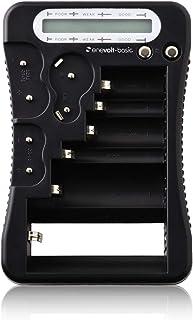enevolt(basic) ユニバーサル 電池チェッカー CR-V3 CR-P2 2CR5 CR123A CR2 6P ボタン コイン電池 単1 単2 単3 単4 単5 3R SYSTEMS 乾電池専用 ブラック