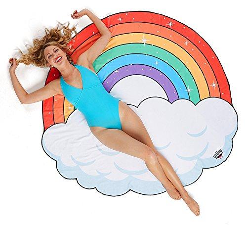 BigMouth Inc Manta gigante de playa arcoiris