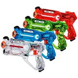 Costzon Infrared Battle Gun Set, 4PCS Laser Tag Gun Blasters, with Multiplayer Mode and 4 Gun Types,...