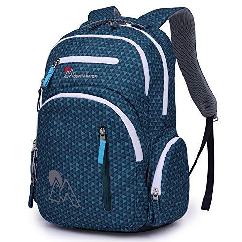 MOUNTAINTOP 30L Schultasche Schulranzen Schulrucksack Teenager Rucksäcke Freizeitrucksack Daypacks Backpack für 15,6 Zoll Laptop Notebook Rucksack