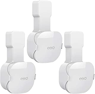 Wall Mount for eero Mesh WiFi System, NOT Fit for eero 6 or eero pro 6, A Space Saving Cord Management Outlet Mount Holder...